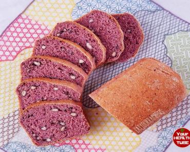 purple bread