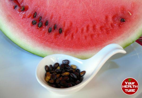 graines de pastèque &quot;width =&quot; 600 &quot;height =&quot; 415 &quot;/&gt; </a> </p> <p> <strong> </strong> Les graines de melon d&#39;eau ont de nombreux avantages pour la santé à leur grande teneur de: </p> <p> Ces graines sont chargées avec plusieurs des vitamines B. La vitamine B la plus prédominante dans la graine de pastèque est B3, avec 1 tasse de graines séchées contenant 3,9 mg soit 19% de la L&#39;American Cancer Society affirme que les vitamines B sont essentielles pour convertir les aliments en énergie et de nombreuses autres fonctions corporelles cruciales.La vitamine B3 / niacine est essentielle au maintien de la santé de la peau, du système digestif et du système nerveux </strong> <sup> <a href=
