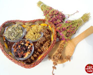 Detox teas herbs
