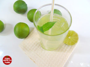 lime water detox drinks