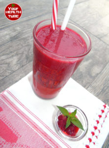 raspberry smoothie detox drinks