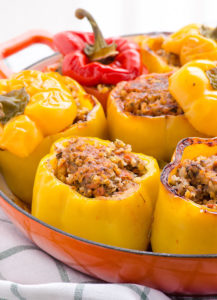 stuffed peppers ferragosto