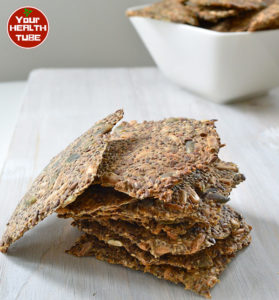 Chia seed chips