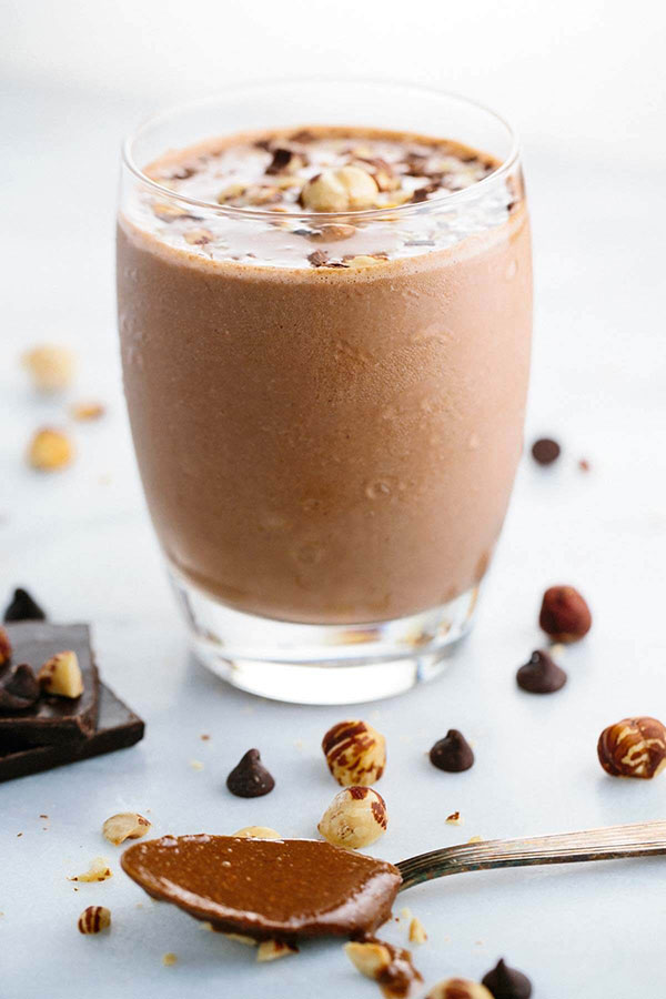 easily mask the flavor with the rich tones of chocolate and hazelnut ...